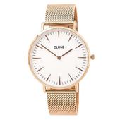 POWeu zegarek damski CLUSE LA BOHEME MESH CL18112 FVAT GWARANCJA