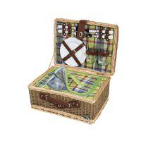 kosz piknikowy, dla 2 os., 40x30x20 cm