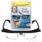 Okulary do czytania z płynną regulacją dioptri Dial Vision