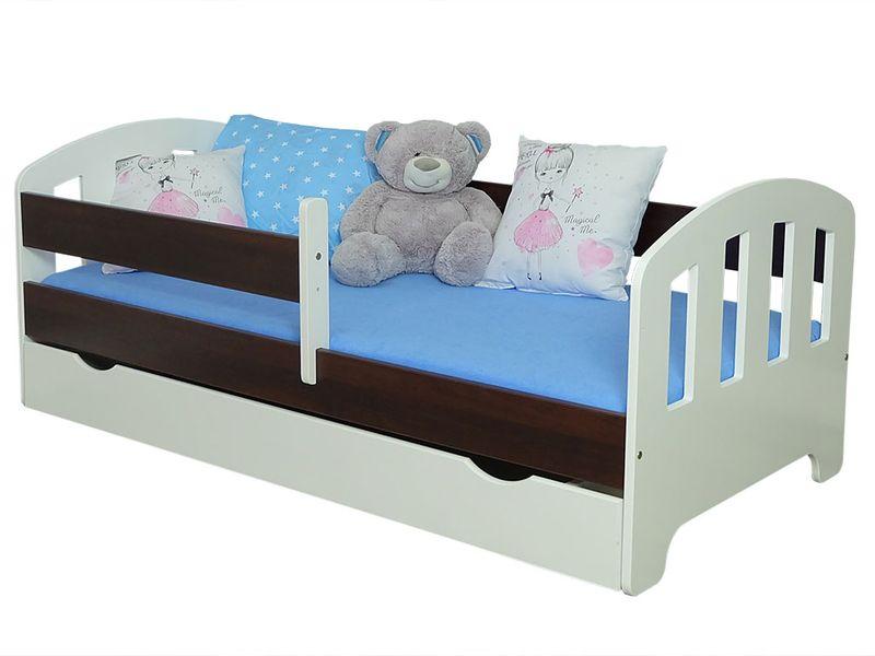 Łóżko FIFI 140x80 + szuflada + barierka zabezpieczająca + MATERAC zdjęcie 10