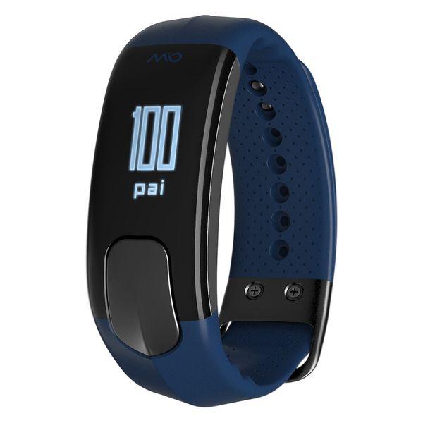 MIO SLICE zegarek smartband pulsometr NAVY rozmiar S zdjęcie 1