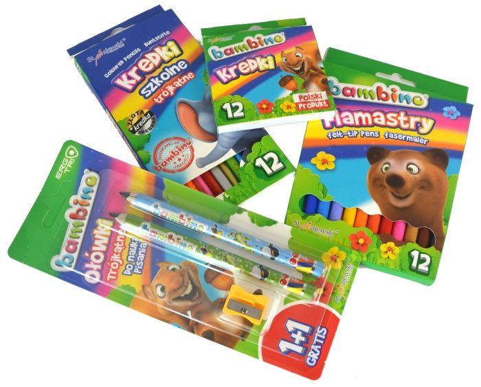 Wyprawka szkolna BAMBINO 38 elementów + GRATISY! zdjęcie 6