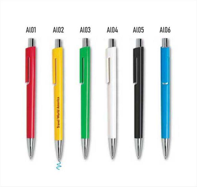 długopisy reklamowe firmowe z logo kolorowy nadruk UV - 100 szt zdjęcie 1