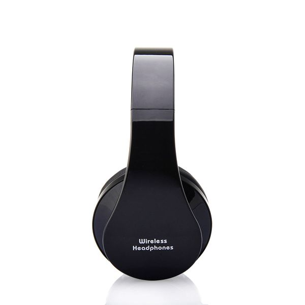 Słuchawki BEZPRZEWODOWE nauszne BLUETOOTH mikrofon CZARNE zdjęcie 2