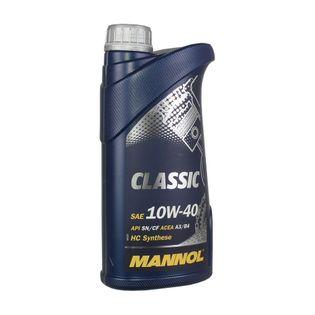 MANNOL Olej Classic 10W-40 API SN/CH-4 ACEA A3/B4 MB 229.1  1L