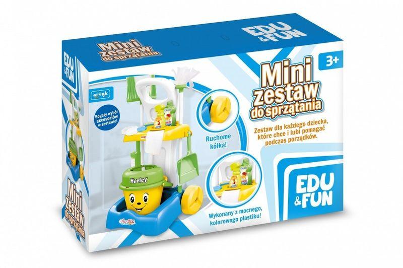 Zestaw do sprzątania Edu&Fun zdjęcie 1