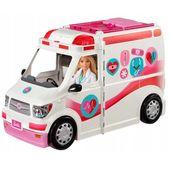Barbie - Karetka mobilna ze światłem i dźwiękiem FRM19