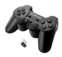 BEZPRZEWODOWY PAD PS3 PC WIBRACJA USB Esperanza