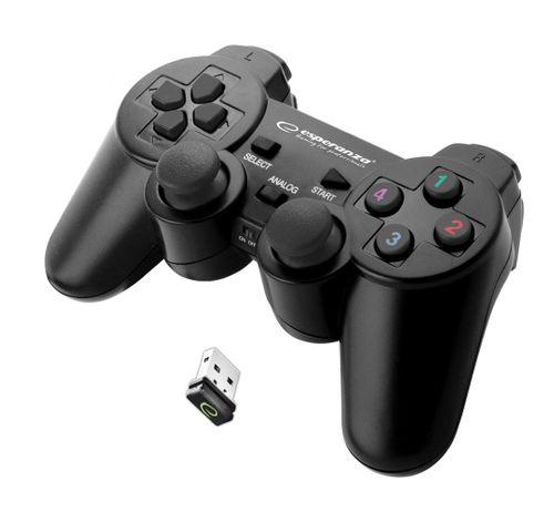BEZPRZEWODOWY PAD PS3 PC WIBRACJA USB Esperanza na Arena.pl