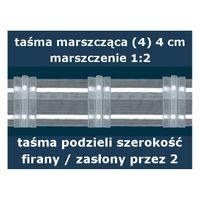 Taśma marszcząca (4) wysokość 4 cm | WN0004
