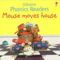 Usborne Phonics Readers - Mouse moves house