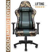 LIMITED EDITION: Fields of Battle FOREST – GOLD Warrior Chair