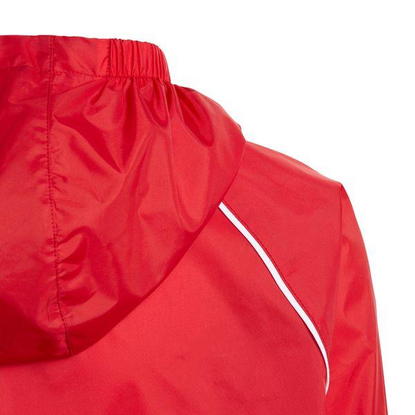 Kurtka przeciwdeszczowa męska adidas Core 18 Rain JR czerwona CV3743 152cm