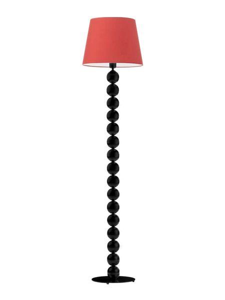 Lampa salonowa BANGKOK stojąca podłogowa SREBRNE KULE zieleń butelkowa zdjęcie 14
