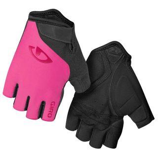 Rękawiczki damskie GIRO JAG'ETTE krótki palec magenta roz. L (obwód dłoni 190-204 mm / dł. dłoni 185-195 mm) (NEW)