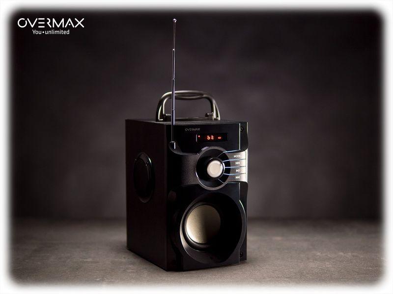 OVERMAX Soundbeat 2.0 - Głośnik Bluetooth USB SD AUX Radio PRZENOŚNY zdjęcie 6