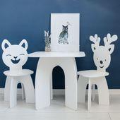 Krzesło krzesełko kotek dla dziecka