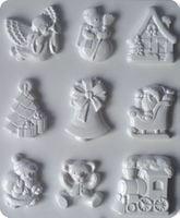 Forma do odlewów - Odlewy gipsowe - Motywy bożonarodzeniowe (2713008)