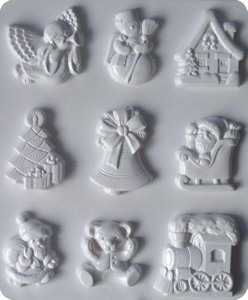 Forma do odlewów - Odlewy gipsowe - Motywy bożonarodzeniowe (2713008) na Arena.pl