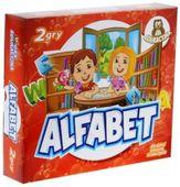 Alfabet 2 gry planszowe gra dla dzieci edukacyjnya