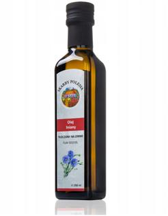 INDIA Olej lniany tłoczony na zimno 250 ml