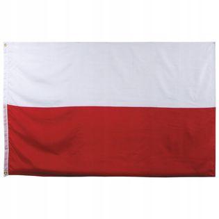 Flaga na maszt 90 x 150 cm Polska