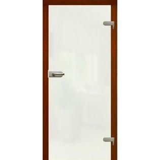 """Drzwi szklane otwierane LAMINAT MATOWY WC  """"70""""  lub  NA WYMIAR !"""