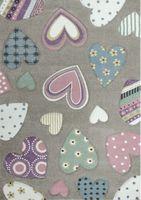 Dywan dla dzieci Diamond SERCA pastelowy HB  160x230cm