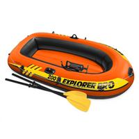 INTEX Ponton dziecięcy dwuosobowy Explorer Pro 200 z wyposażeniem 196x102x33 cm 58357