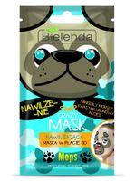 Bielenda Crazy Mask Maska w płacie 3D Mops - Crazy Mask 3D Mops