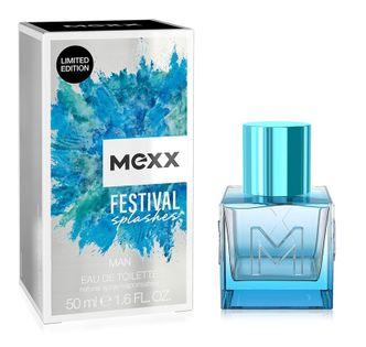 Mexx Festival Splashes Man Woda Toaletowa Spray 50Ml