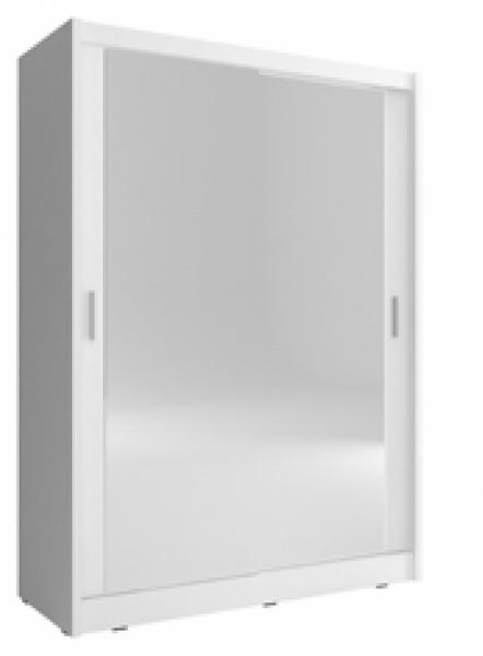 Szafa garderoba przesuwna MAJA 150 cm podwójne lustro zdjęcie 2