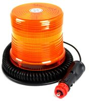 LAMPA OSTRZEGAWCZA LED SMD MAGNES 12-24V STROBO CE