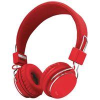 Trust Ziva  - Słuchawki nauszne (czerwony)