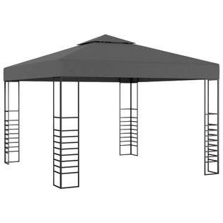 Namiot ogrodowy, 3x3m, antracytowy
