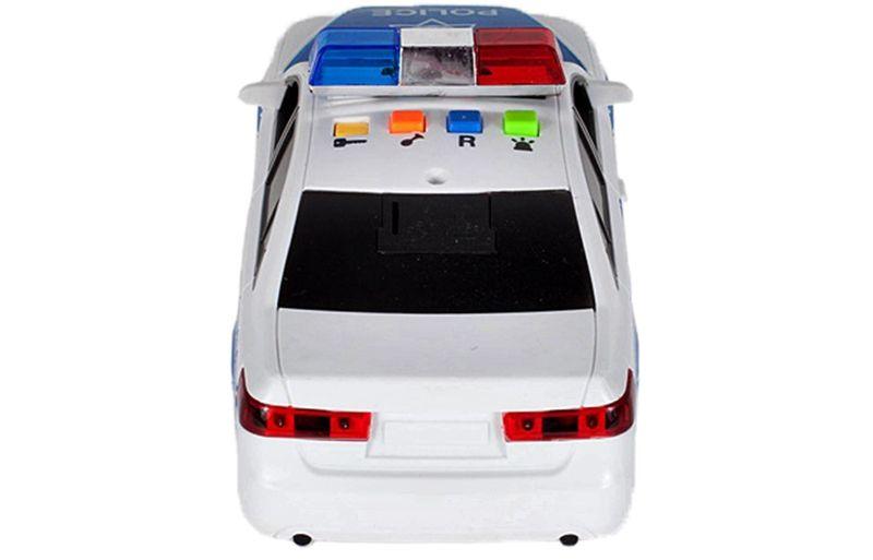 Samochód policyjny Radiowóz interaktywny dźwięki i światła Y260 zdjęcie 7
