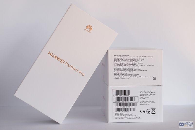 Huawei P smart Pro DS Opal Polska Dystrybucja FV VAT 23% Gw 24M zdjęcie 6