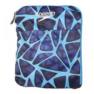 SPEEDO WOREK PLECAK DELUXE VENTILATOR MESH BAG 35 LITRE DELUXE BLUE