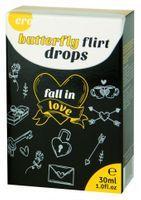 Krople Miłości Hot Ero Butterfly Flirt Drops 30 Ml