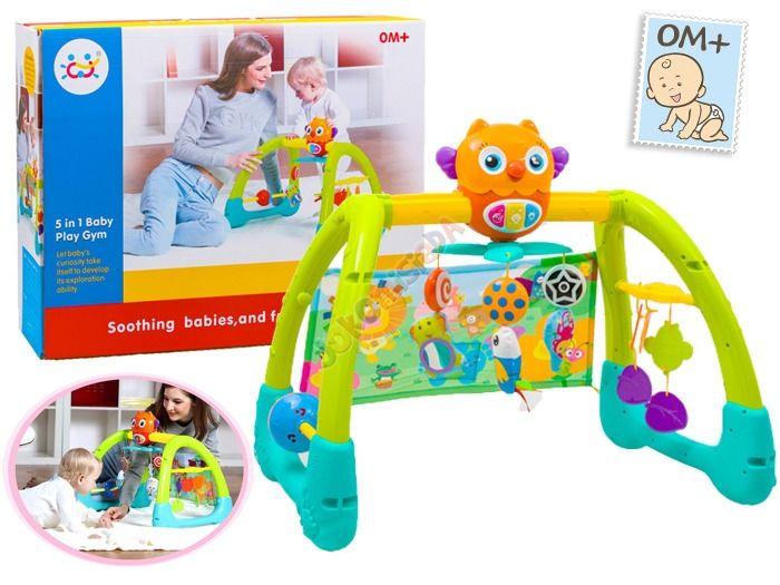Kolorowy Interaktywny STOJAK 5w1 Dla Dzieci 0+ zdjęcie 3