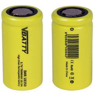 2x Akumulator ogniwo bateria IMR 18350 3,7 v 700 mAh 10.5A CE
