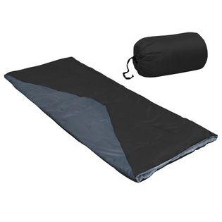 Lumarko Lekki śpiwór prostokątny, czarny, 1100 g, 10°C!