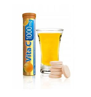 Vita C 1000mg 20 tabletek musujących smak pomarańczowy