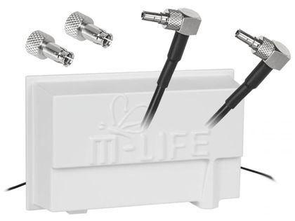 Antena LTE Dual 14 dBi 1800-2100MHz Twix CRC9 TS9