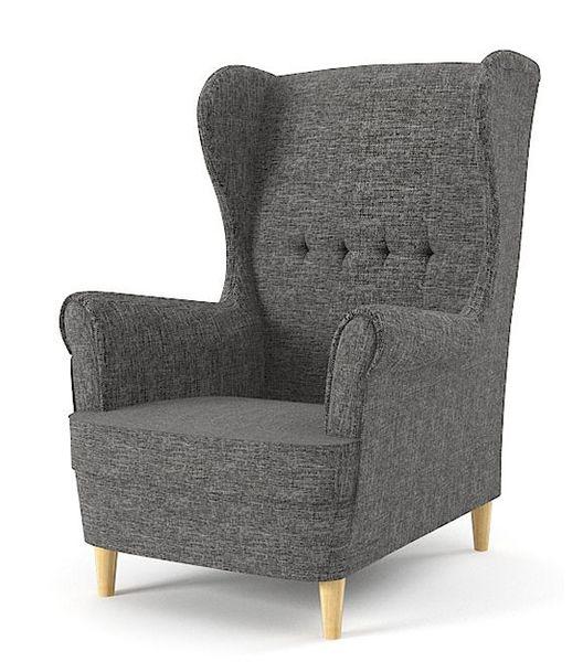Fotel USZAK MILO styl skandynawski PRODUCENT zdjęcie 3