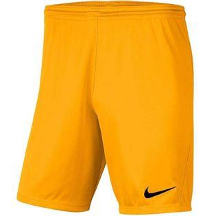 Spodenki męskie Nike Dry Park III NB K żółte BV6855 739