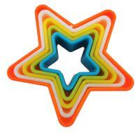 Foremki plastikowe do wykrawania ciastek, gwiazda