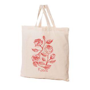 Torba Bawełniana Ekologiczna Róże