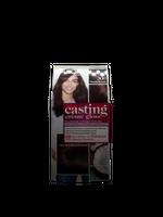 LOREAL Casting Creme Gloss farba ciemny brąz dunkelbraun 300 kokos