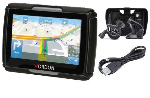 NAWIGACJA MOTOCYKLOWA GPS VORDON M-435 EU 4.5